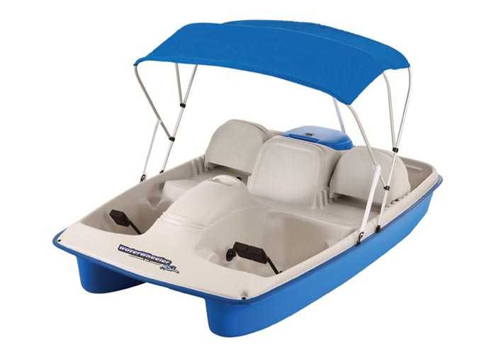 Water Wheeler Asl Electric Pedal Boat Sun Dolphin Boats