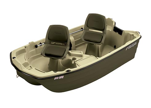 Pro 102 Two Person Small Fishing Boat - Sun Dolphin Boats