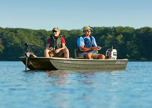 Pro 120 Fishing Boat Perfect For Bass Panfish Inland Lake Fishing