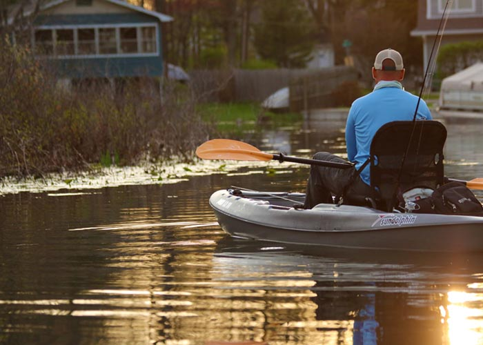 Boss 12 SS Sit On Top Fishing Kayak - Sun Dolphin Boats